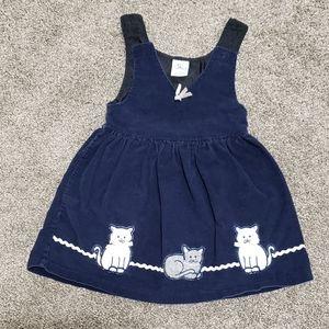 Corduroy dress size 2